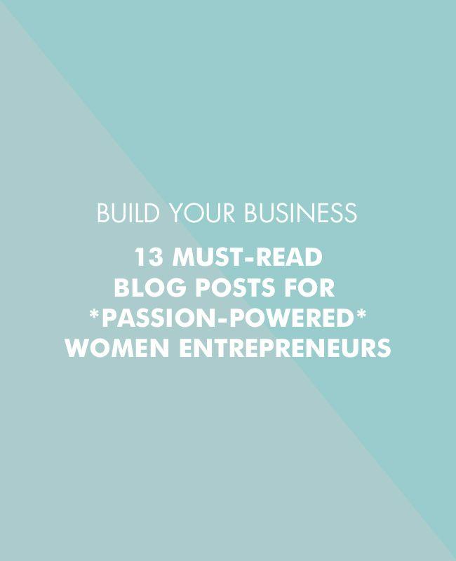 13 must-read blog posts for women entrepreneurs - Betty Red Design   Blog