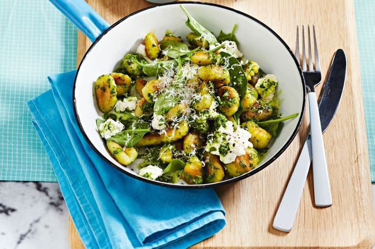 Packed with English spinach to top you up with B-vitamins like folate, this carb-boosting gnocchi recipe will help you start your week right.