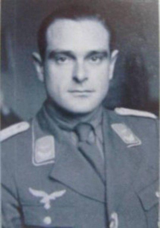 Hans Jurgen Soehring German Officer Love Of Arletty A French Film
