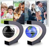 Wish | Home Decor Electronic Magnetic Levitation Floating Globe Xmas Gift