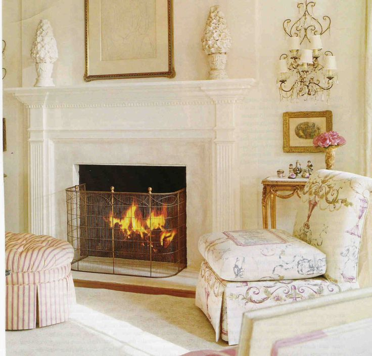 Interior, Surprising Interior Contemporary Fireplace Mantels With  Minimalist Stool And Soft Chair Fireplace Mantel Surround Ideas: Attractive  Fireplace ...
