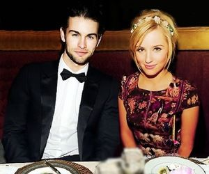 Chace crawford and dianna agron