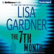 In Lisa Gardner's first-ever short story following thirteen bestselling novels, The 7th Month takes listeners between the books and into a day in the life of Boston Detective D. D. Warren. In her seventh month of pregnancy, D.D. should be taking it easy. Instead, she accepts a small consulting role on the set of a serial killer film shooting in Boston.