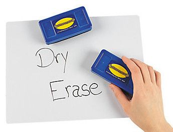 Whiteboard Erasers, 12 pack