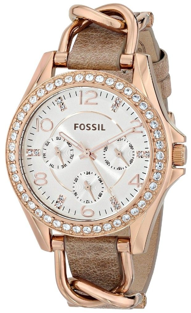 Women watches : Crystal watches for ladies Fossil