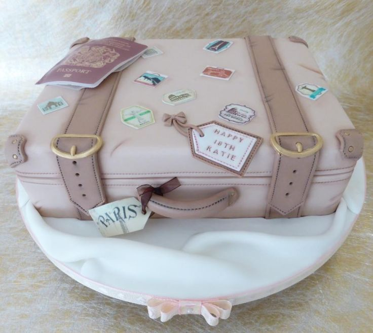 Vintage+Suitcase++-+Cake+by+Deborah