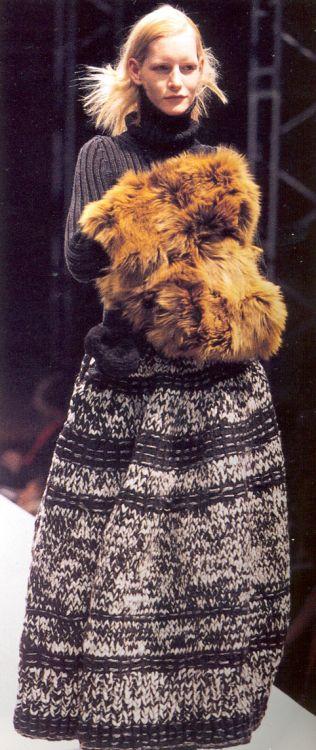 Yohji Yamamoto Fall/Winter 1998