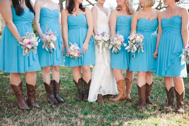 WESTERN bridesmaid dresses - Google Search