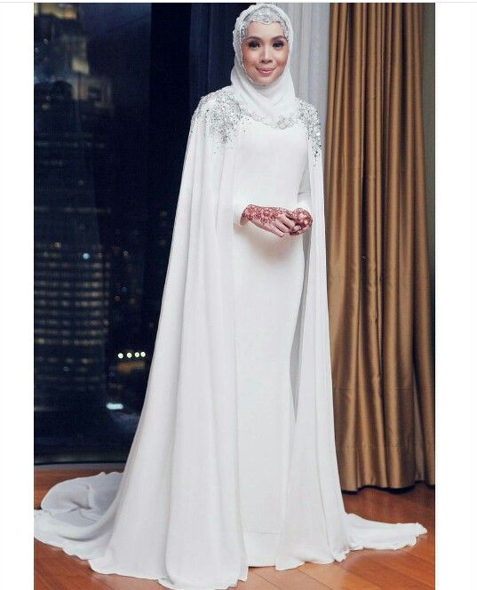 Ready to wear Bridal & Party Hijabs, Bridal capes, veils and accessories…