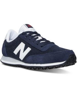 New Balance Women's 410 Capsule Casual Sneakers from Finish Line - NAVY/WHITE 6.5