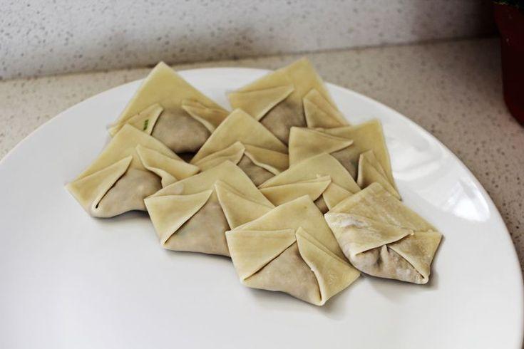 Halfway Homemade: Asian Style Dumpling Soup – A Beautiful Mess