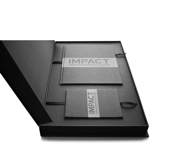IMPACT Membership Pack by Super Salmi, via Behance. For promotional folders, business cards, flash drives, and collateral printing, visit www.unifiedmanufacturing.com.