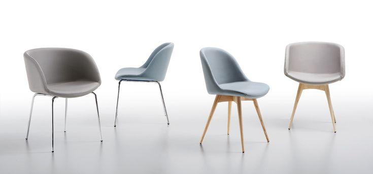 SONNY - čalouněné židle a křesílka v různých provedeních, výrobce MIDJ