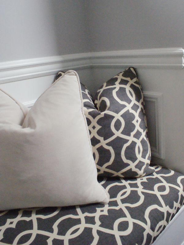 no sew built-in bench cushion