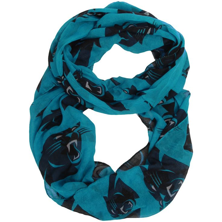 Carolina Panthers Women's Infinity Scarf