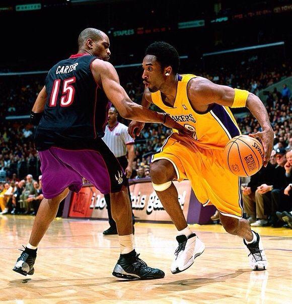 "Kobe rockin' Vince Carter • ""Wya VC?"""