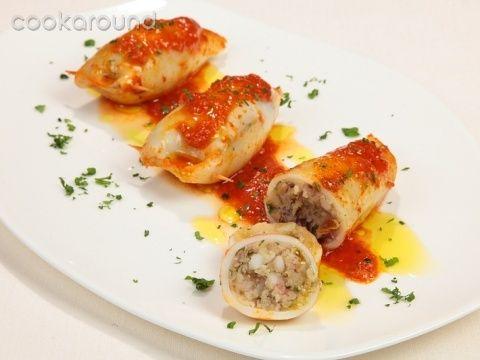 Calamari ripieni in tegame: Ricetta Tipica Sicilia | Cookaround
