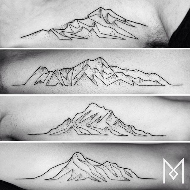 #mountains #moganji #singleline
