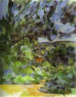 Blue Landscape By Paul Cézanne ,1904