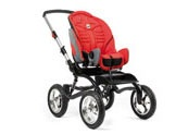 Stingray by Snug Seat... Eva has this medical stroller... we LOVE this!  Has a canopy with a window that keeps her enclosed to keep germs away from her.  Adjustable in so many ways!