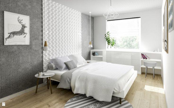 Sypialnia w stylu skandynawskim - zdjęcie od Formea Studio - Sypialnia - Styl Skandynawski - Formea Studio