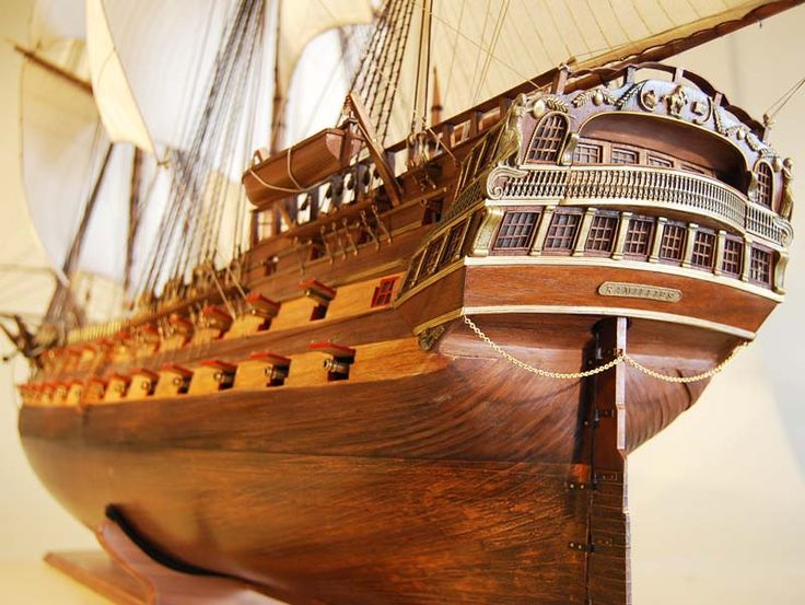 HMS Ramillies model ship stern view | boat | Pinterest ...