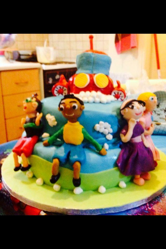 Little Einstein cake for birthday