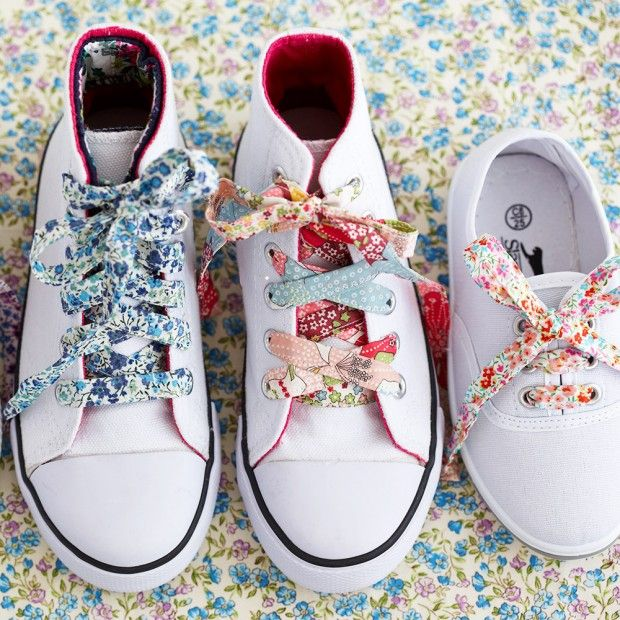 PIMP YOUR PUMPS A crafty trick to give your pumps standout style.  Find more easy craft ideas over on prima.co.uk