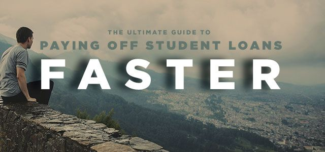 It might feel like student loan debt could last forever. But it doesn't have to. Here's our guide to paying off student loans faster.