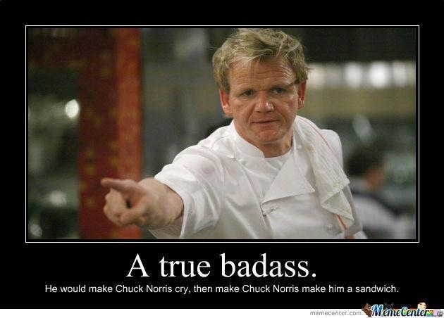 Love me some Chef Ramsey ..