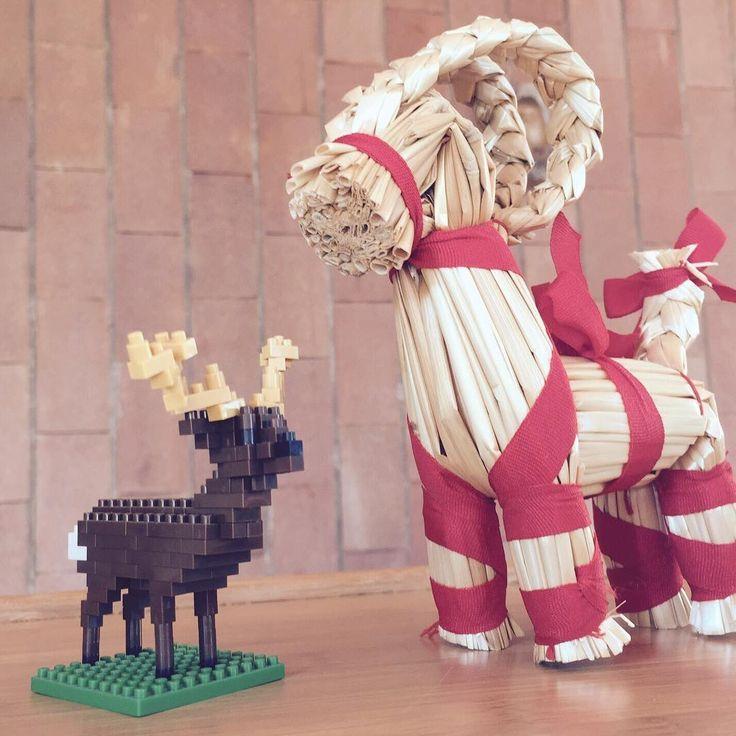 #renne pronte per la partenza? 🎄🎅🏼 #regali #gift #delivery #christmas #ikeaitalia #nanoblockitalia #nanoblock #costruzioni #mattoncini #lego #legoitalia #decorazionifaidate #homedecor #collezione #collezionismo #hobby #tempolibero #natale #nataleiscoming #like4like #picoftheday #iphoneonly #instagood #renne #reindeer #elk #rennadibabbonatale