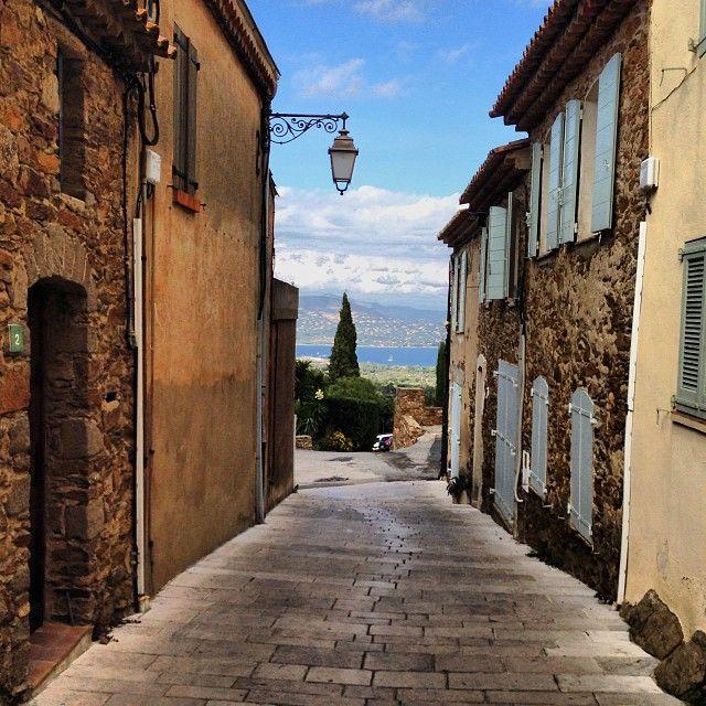 Gassin, un des plus beaux villages de France.