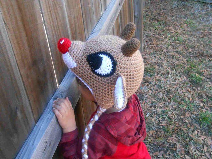Reindeer Hat Knitting Pattern Free : Best 25+ Reindeer hat ideas on Pinterest Kindergarten ...