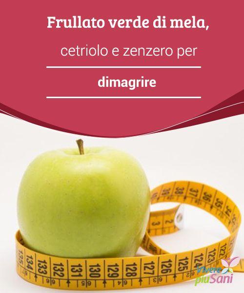 Frullato verde di #mela, cetriolo e zenzero per #dimagrire   Oggi vi proponiamo un #frullato verde a base di mela, #cetriolo e #zenzero. Volete sapere quali benefici ottenere?