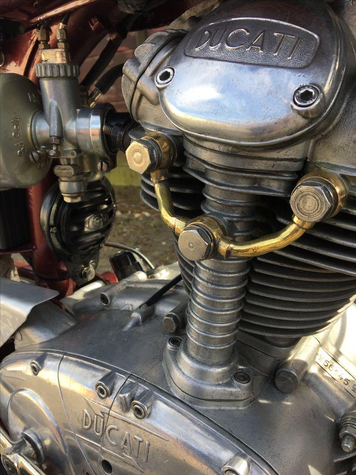 "#Ducati #TS #Turismo #vintage #175 ""oldschool #restore #1961 #love #Original #OEM #fastonce #patina"