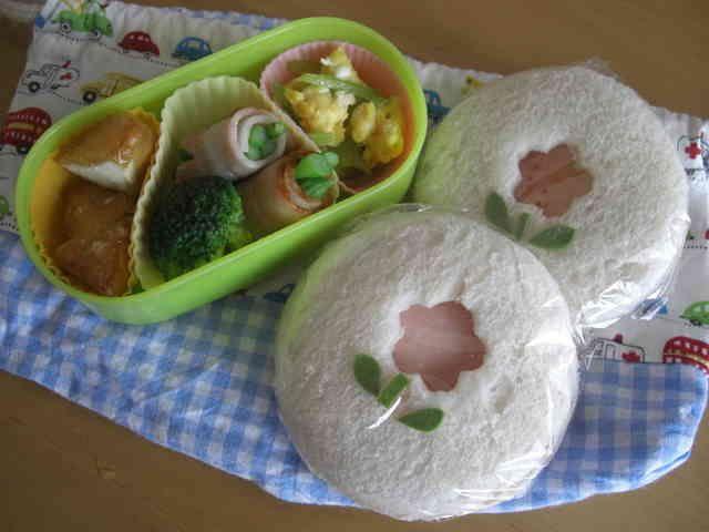 お弁当に☆ランチパック風サンドイッチ☆の画像