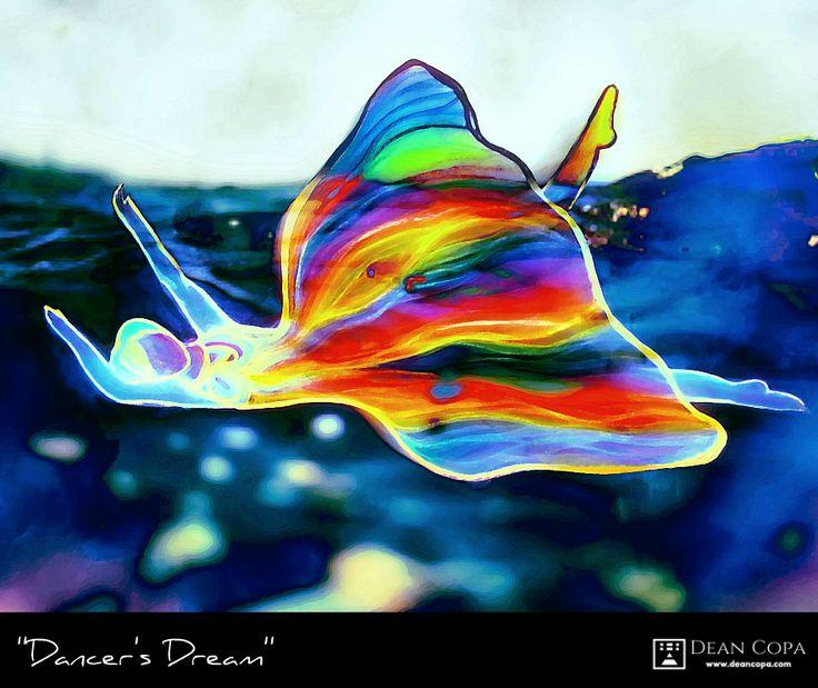 ''Dancer's Dream'' 2013 by dean Copa. From the Abun-Dance Series.