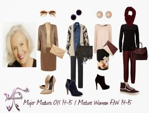 MODA PARA MUJERES MADURAS: Tendencias O/I 2014-2015 | Cuidar de tu belleza es facilisimo.com