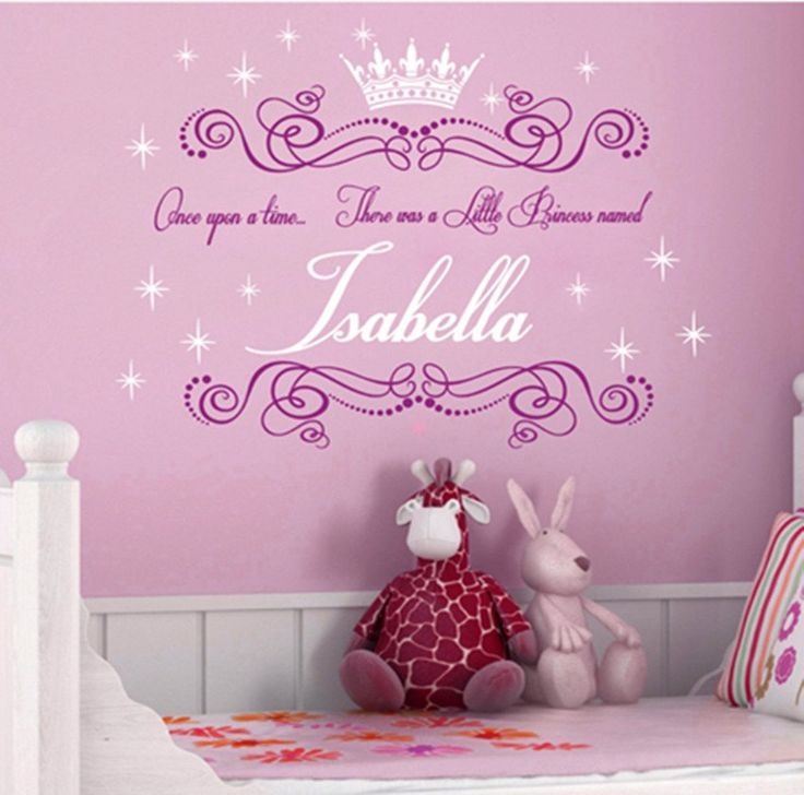 Best Baby Names Images On Pinterest - Custom cut vinyl wall decals