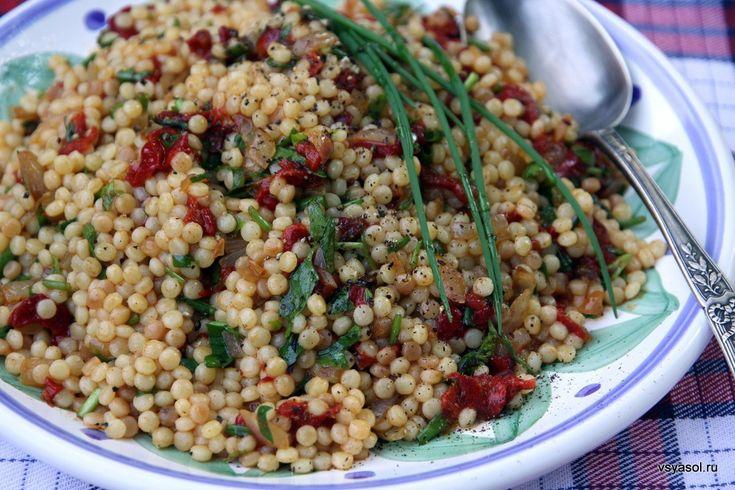 Птитим (израильский кускус) и с чем его едят – Вся Соль - кулинарный блог Ольги Баклановой
