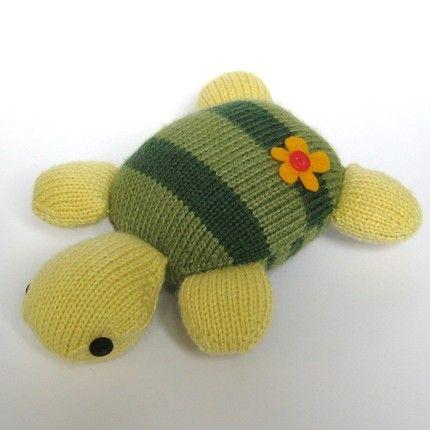 turtle pattern fabric | Topsy Turvy Turtle toy animal knitting pattern by fluffandfuzz | Craft ...