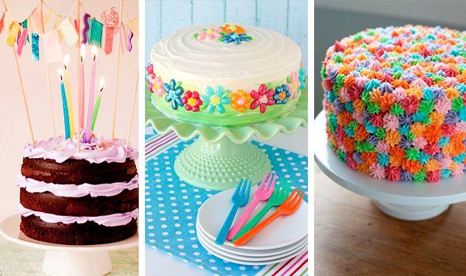Ideias criativas para decorar bolo de aniversário   Macetes de Mãe