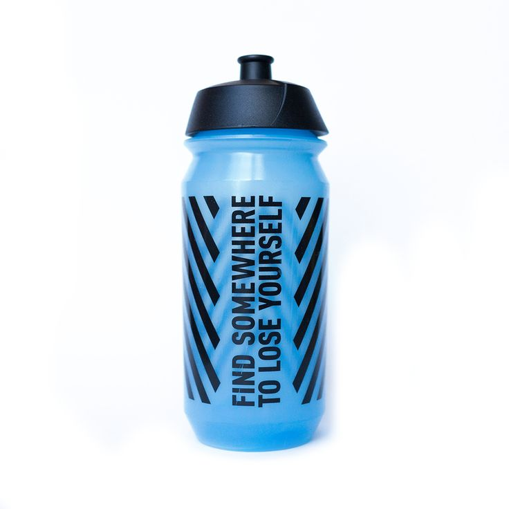 Find somewhere to lose yourself water bottle. Perfect accessory for your cycle