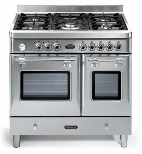 "FRRYC905DSS Fratelli Onofri Royal Chiantishire 36"" Dual Fuel Range with Double Oven + 5 Sealed Burners - Stainless Steel, $3399"