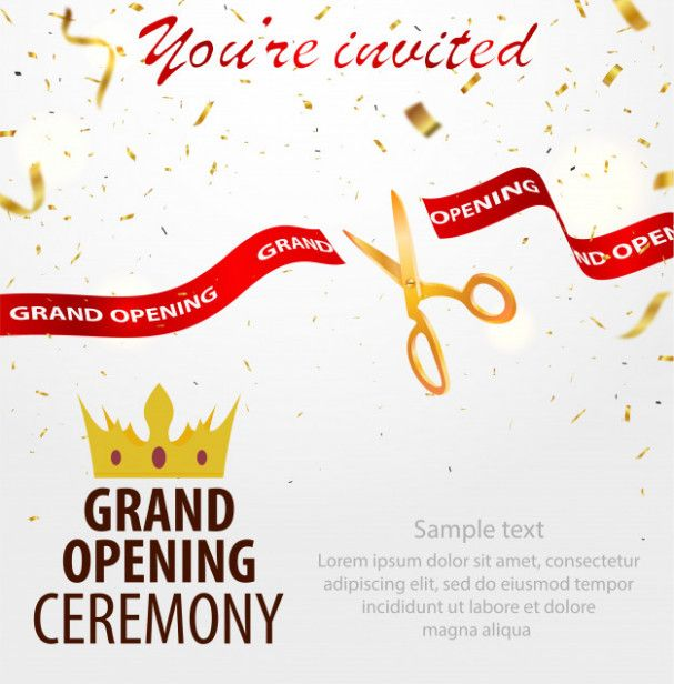 Reasons Why Invitation Card Format For Shop Opening Is Getting More Popular In The Past De Invitation Card Format Grand Opening Invitations Invitation Template