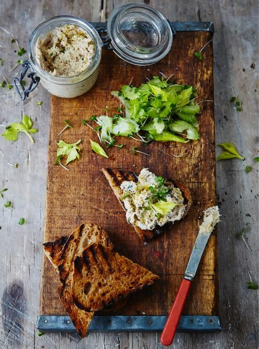 Smoked Mackerel Pate to try for Peter
