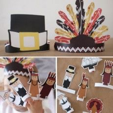 Thanksgiving Printouts - 6th Street Design School
