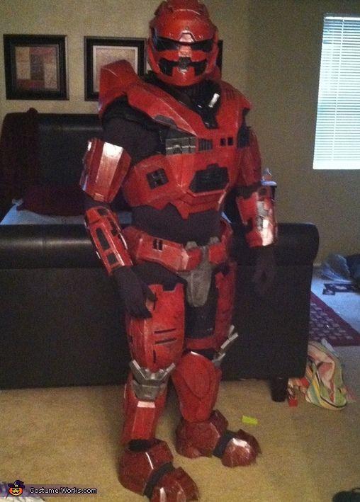 Halo Spartan - 2013 Halloween Costume Contest