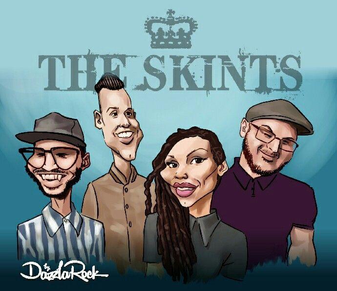 The Skints cartoon