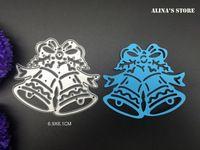 Boże Narodzenie dzwon metalu foldery do wytłaczania Uwagi Mapy koperta ramka dekoracyjny pierścień umiera cięcie dzwon stalowy szablon